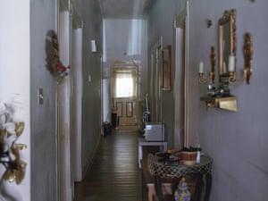 Windows from Prison: hallway