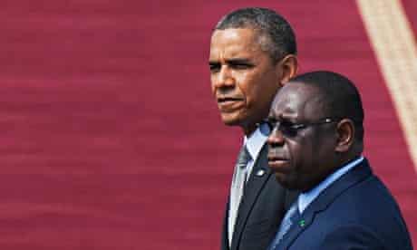 Obama Senegal Africa