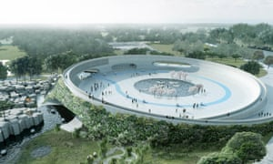 Zootopia … Bjarke Ingels' proposal for a zoo without enclosures.