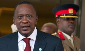 Uhuru Kenyatta, the Kenyan president, who has been indicted by international prosecutors over election violence, will not have to address human rights at the African leaders' conference in Washington.