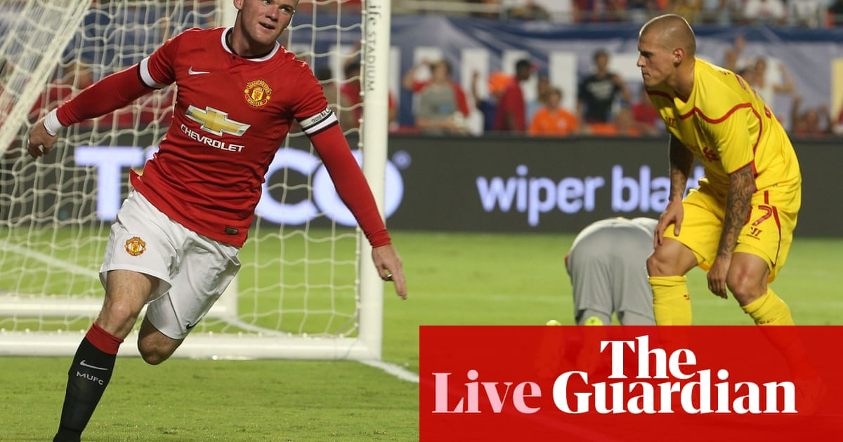 Manchester United 3 1 Liverpool As It Happened
