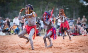 Ceremonial bunggul performances, Garma festival