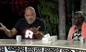 Noel Pearson and Dhäŋggal Gurruwiwi, Q&A Garma