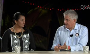 Nova  Peris and Ken Wyatt