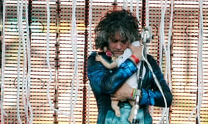 Wayne Coyne performs with The Flaming Lips