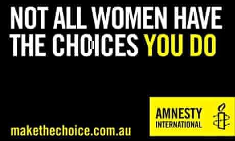 Amnesty Tinder profile choices