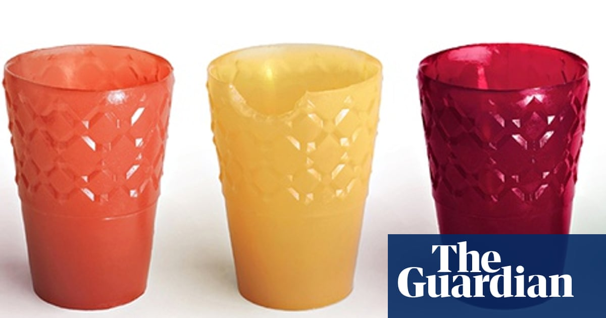 7bed436549 Drink up, then eat the glass – the trend for edible food packaging and  tableware