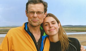 Hannah Moss and her father Mike