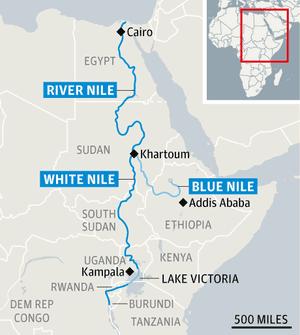 尼罗河的图形