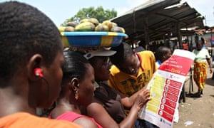 liberia ebola pamphlets