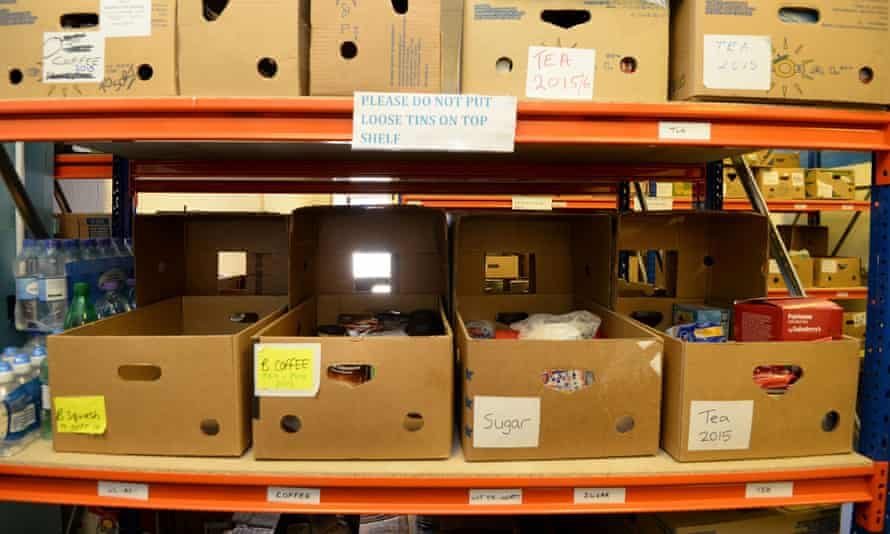 Rising living costs, low pay and welfare problems has seen a large increase in the use of food banks.