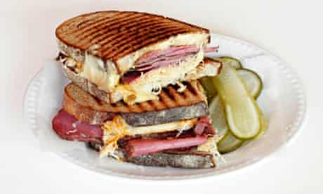 A Mishkins Reuben sandwich.
