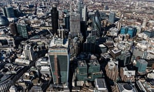 Aerial views of London, Britain - 05 Mar 2013