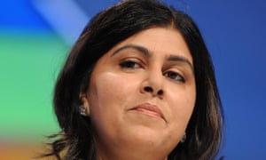 Sayeeda Warsi, who resigned from the cabinet on Tuesday