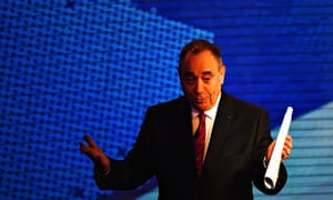 Alex Salmond in STV debate