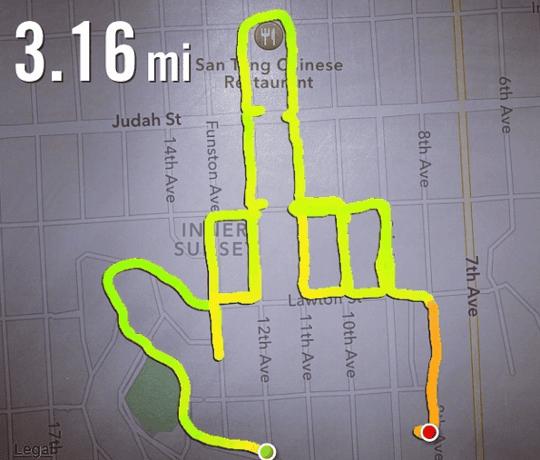 Runner uses Nike+ app to draw penises | Technology | The