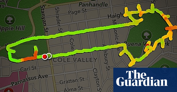 Runner uses nike app to draw penises technology the guardian gumiabroncs Image collections