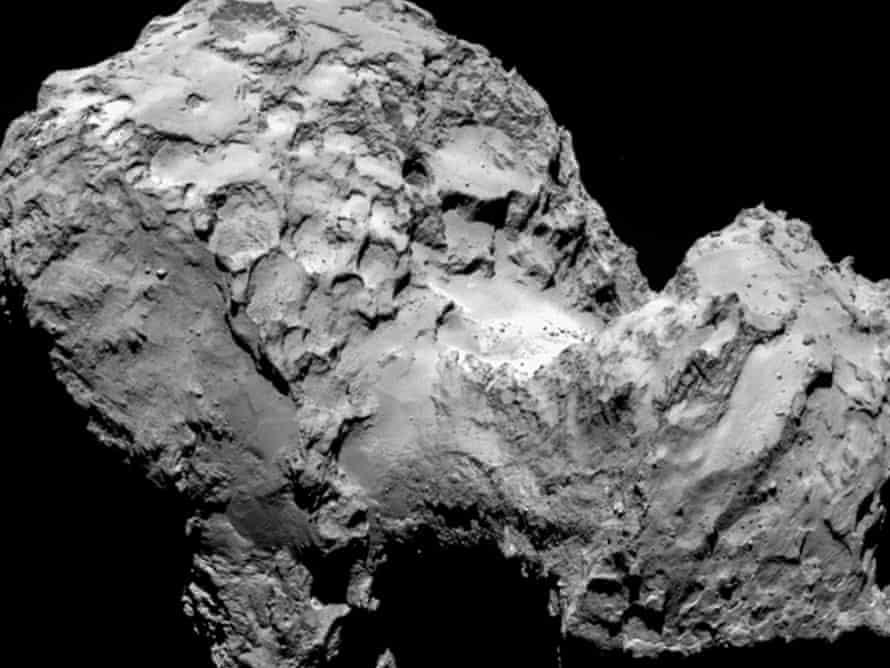 ESA's Rosetta mission is now in orbit around comet 67P/Churyumov-Gerasimenko.