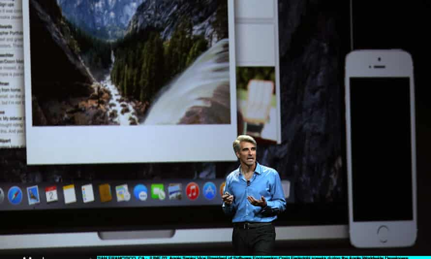 The UK has 61,000 iOS app developers - the biggest group in Europe. Craig Federighi, Apple's senior vice president of software engineering, spoke to developers at WWDC in June.