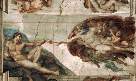Michaelangelo Adam Sistine Chapel