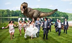 Goldblum dinosaur wedding