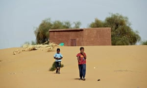 Boys in Moghtar-Lajjar