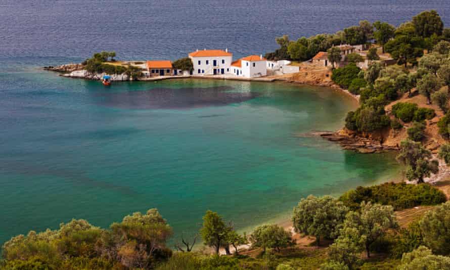 Peaceful Milina, on Greece's Pelion peninsula