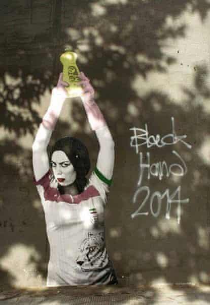Iran's Banksy