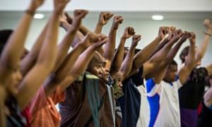 Rehearsals for INALA Ladysmith Black Mambazo