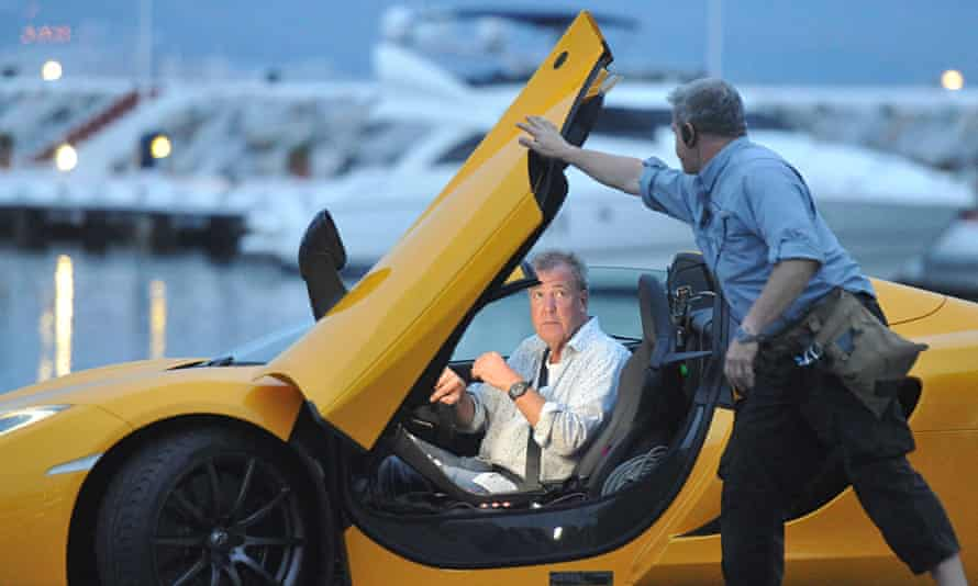 Top Gear filming in Spain