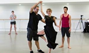 Inala Mark Baldwin choreographer