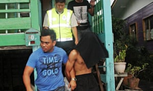 Malaysian police arrest a suspect in the murder of British students Neil Dalton and Aidan Brunger
