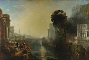 Suns 1 Dido Building Carthage by JMW Turner