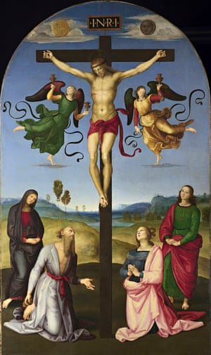 suns 4 The Mond Crucifixion (c.1502-03) by Raphael.