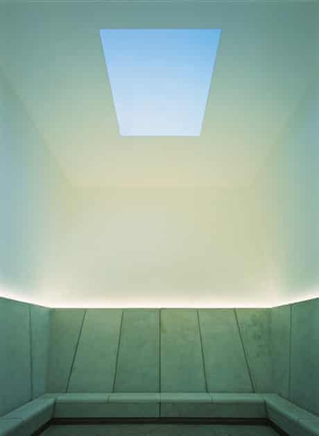 Suns 5 Deer Shelter Skyspace (2006) by James Turrell