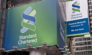 Standard Chartered billboards