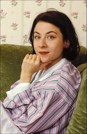 Donna Tartt in her hotel room in Paris while promoting her book.