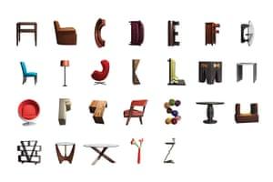 Snapshot: Furniture Alphabet