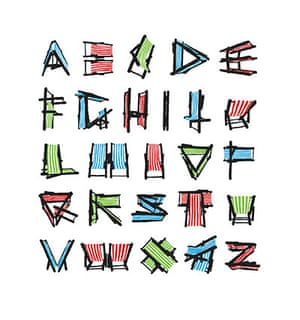 Snapshot: Deckchair Alphabet