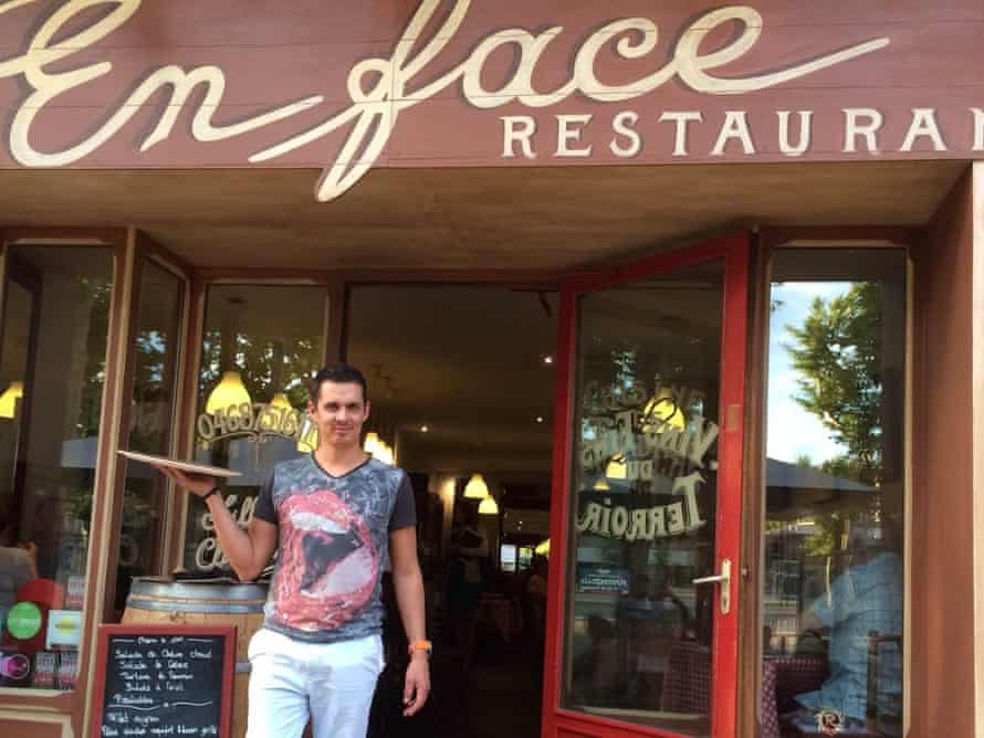 En Face restaurant in the Narbonnaise region of the south of France