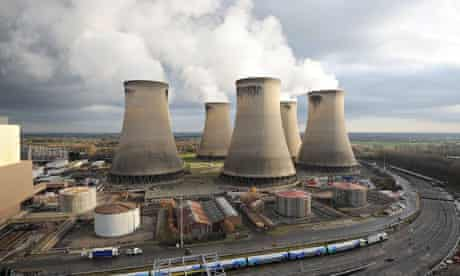 Drax power station near Selby, north Yorkshire