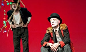 'Magnificent': Christian Mazzuchin and Noel Verges in Théâtre Nono's 'thrilling' Godot.  Cordula Tre