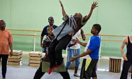 Inala rehearsal Ladysmith Black Mambazo