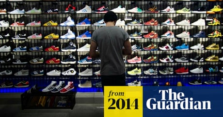info for c184c d207e Adidas looks to outrun Nike with its biggest advertising campaign ever    Business   The Guardian