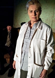 'A challenge': Orla Carlton as Assistant in Adrian Dunbar's production of Beckett's Catastrophe.