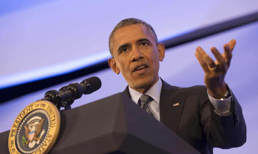 President Barack Obama speaks during the US-Africa Leaders Summit