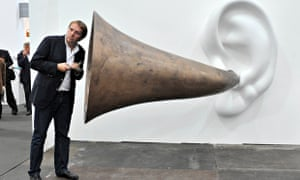 Ears and hearing Frieze art fair