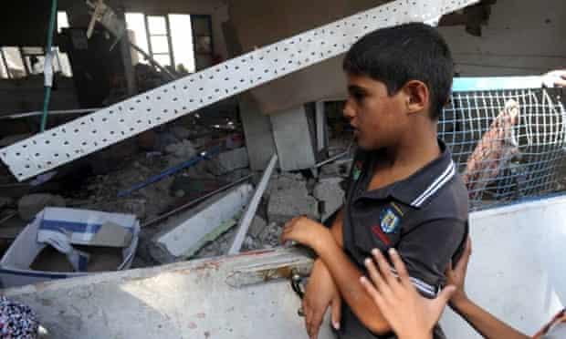 UNRWA Jabaliya school attack