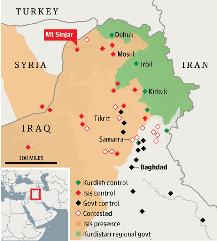 Who are the Yazidis and why is Isis hunting them? | World