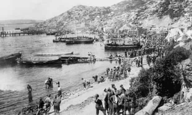 Gaba Tepe, the spot where Australian soldiers 'landed' upon the Gallipoli Peninsula.